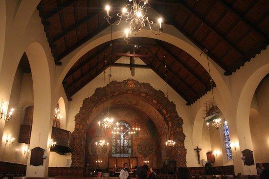 Aalesund Church: interno