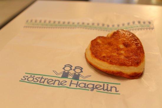 Sostrene Hagelin: Heart-shaped fishcakes