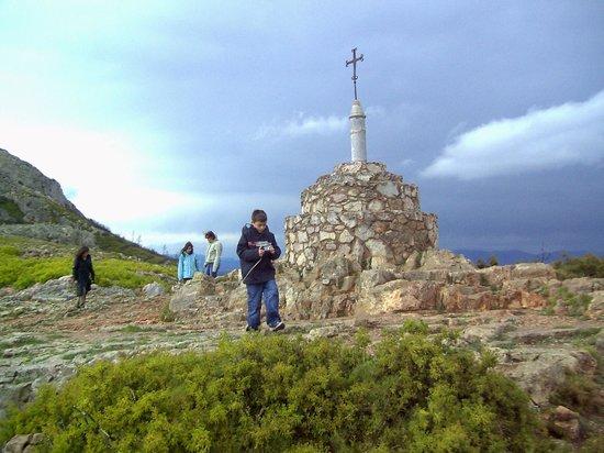 Castillo de Montgrí: monument le long du chemin
