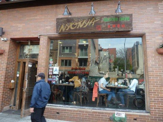 Nyonya: entrada del restaurante