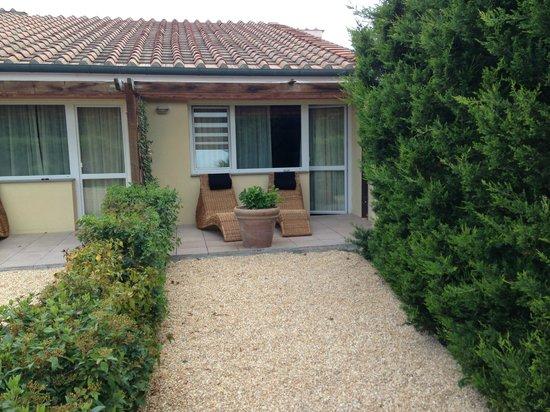 Relax Hotel Aquaviva: Il bel giardinetto privato delle camere Superior