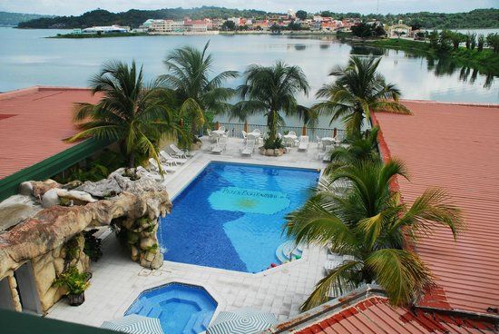 Hotel Peten Esplendido: lake view