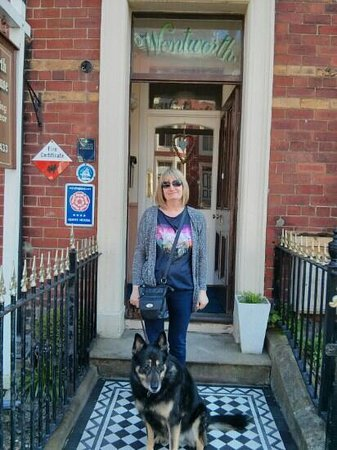 Wentworth Guest House: pet friendly accommodation :-)
