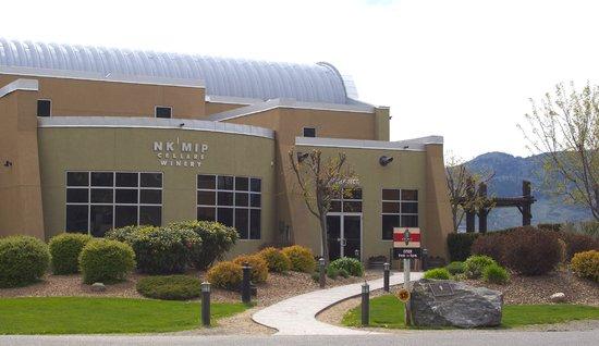 Nk'Mip Cellars Patio Restaurant: Nk'Mip Cellars Winery, next door to Spirit Ridge Vineyard Resort