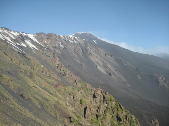 Hotel Corsaro: Monte Etna from The Donkey's Back (Etna South)