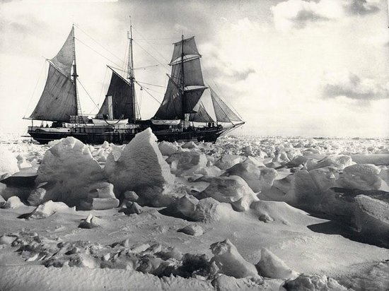 Dún Laoghaire, Irlandia: The Endurance stuck in the ice