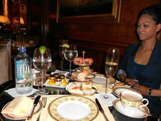 The Ritz-Carlton New York, Central Park: 'High Tea' at the Ritz
