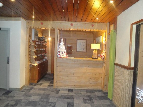 Hotel la Vanoise : reception