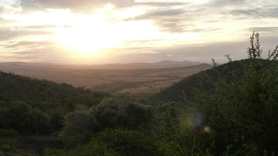 Zulu Nyala Game Lodge: Sunset at ZN.