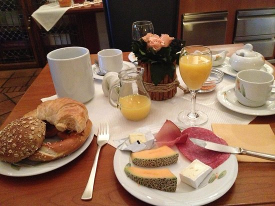 Hotel Klosterstueble: Great Breakfast