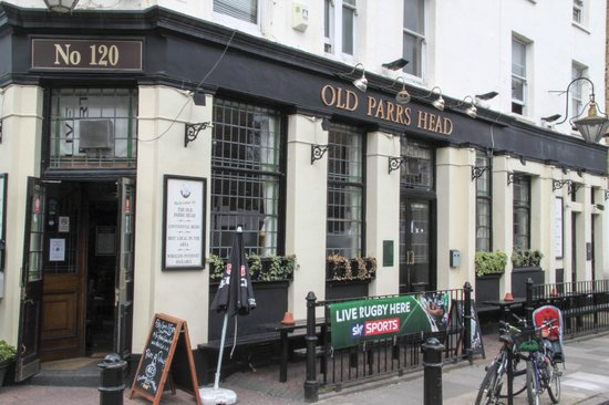 Old Parrs Head: Front