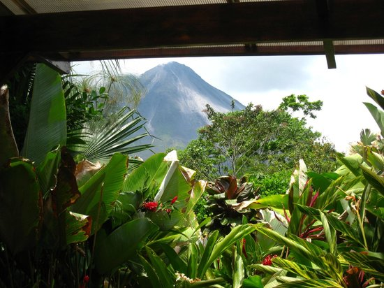 Nayara Hotel, Spa & Gardens: Arenal Volcano From Room