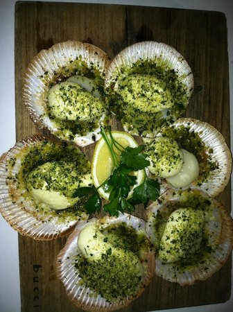 Bucci Italian Restaurant: hervey bay scallops