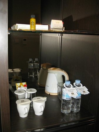 Orakai Songdo Park Hotel : Room amenities