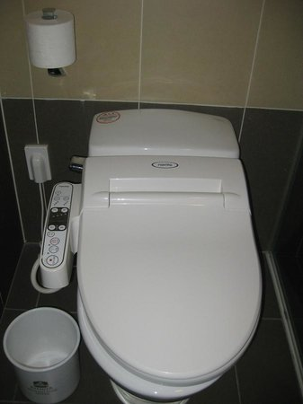 Orakai Songdo Park Hotel: A very unusual toilet