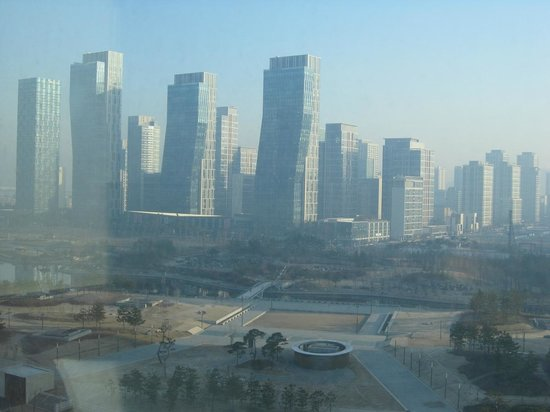 Orakai Songdo Park Hotel: View from room