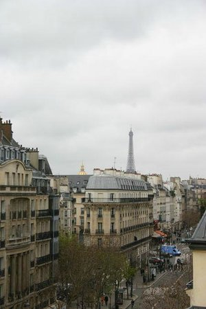 La Maison Saint Germain: Balcony view