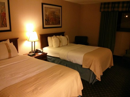 Holiday Inn Buffalo International Airport: Beds