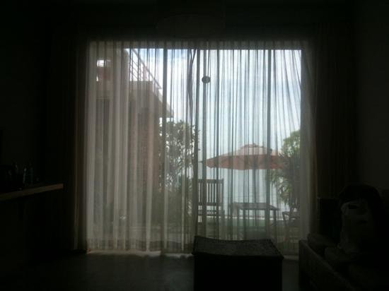 Saravoan-Kep Hotel: View from room