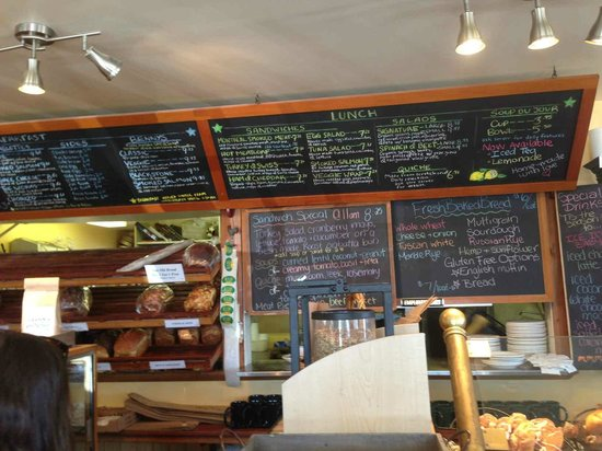 The Roost Farm Bakery: The Roost Farm Menu