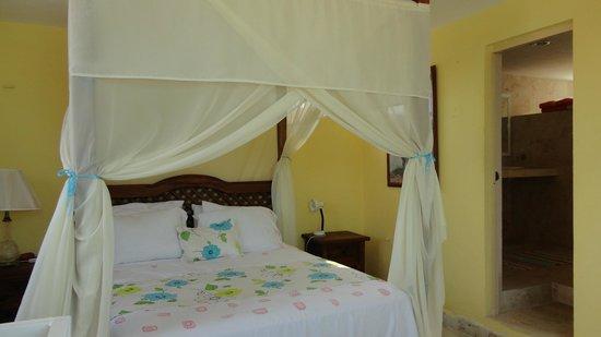 Casa Rosa : Bed