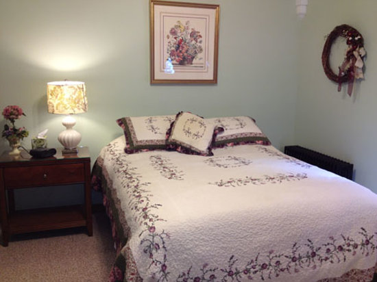 Twin Spruce Tourist Home Bed and Breakfast: The Hydrangea Room