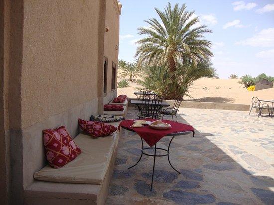 Hotel Ksar Merzouga: Arrière de l hotel