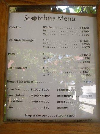 Good To Go Jamaican Restaurant Menu