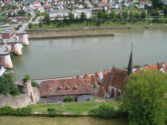 Schlosshotel Hirschhorn: The View