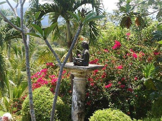 Good Hope Plantation: Budda in the garden.