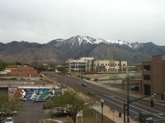 Hilton Garden Inn Ogden UT: view from our room