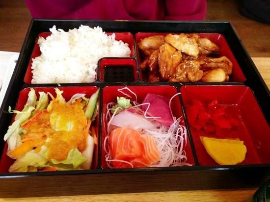 bento box picture of mai sushi london tripadvisor. Black Bedroom Furniture Sets. Home Design Ideas