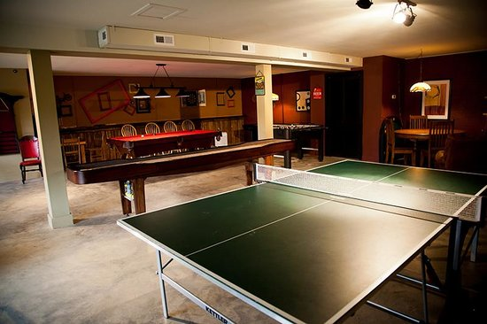 The Lodge At Tellico: game room