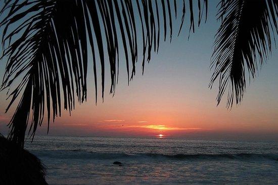 Sunset at Playa Escondida