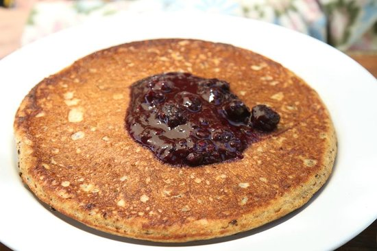 Big Sur Bakery & Restaurant : If one pancake could be a meal; this is the one.