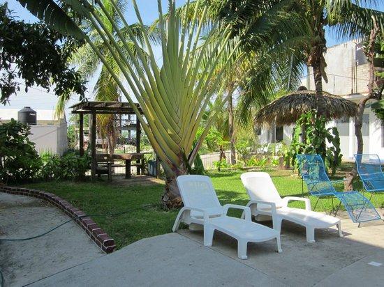 Hotel Ribera del Mar: jardín
