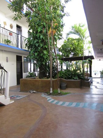 Hotel Ribera del Mar: pasillos