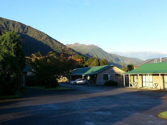 Rainforest Motel: beautiful surroundings!