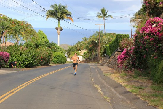 Eva Villa: great neighborhood for running
