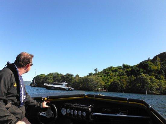 Kawarau Jet Rotorua & Kjet Parasailing: Listening to Lake Rotorua History while having fun