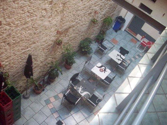 Granados Hostel : vista desde el segundo piso