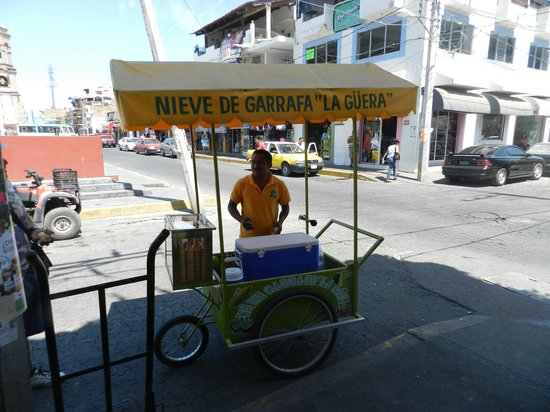 Vallarta Food Tours: Corn sorbet? Absolutely excellent!