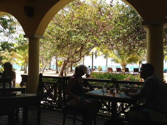 Hamanasi Adventure and Dive Resort: View from deck