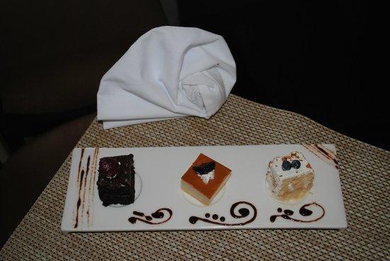 Casa Dorada Los Cabos Resort & Spa : Samples from the new executive chef - amazing!