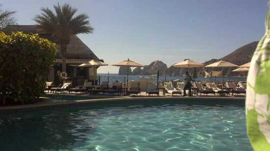 Casa Dorada Los Cabos Resort & Spa : View from the pool lounge chair.