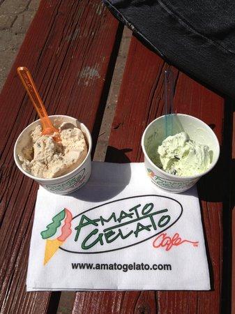 Amato Gelato: Yummy treat!
