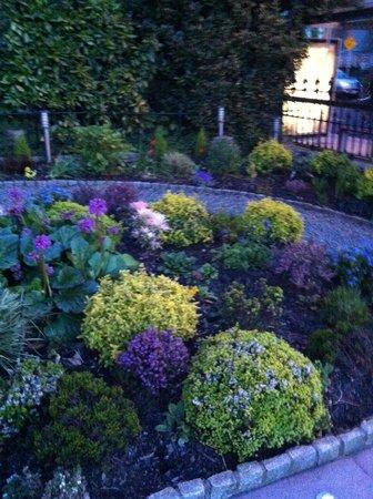 Roxford Lodge Hotel: front garden