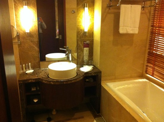 Crowne Plaza Beijing International Airport: Baño
