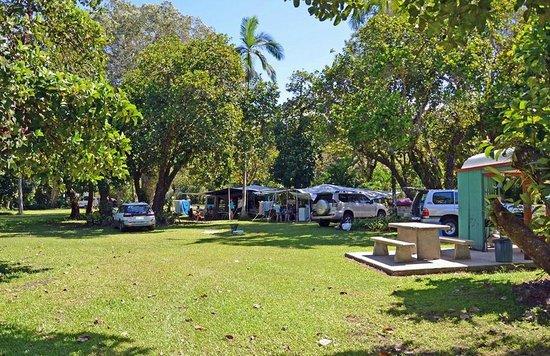 Pinnacle Village Holiday Park: Camping sites