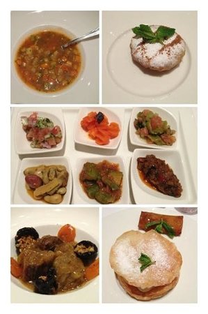 L'Ambre at Riad Fes: gastronomic set